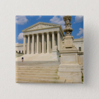 Washington, DC, Supreme Court Building 15 Cm Square Badge