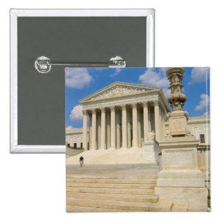 Washington, DC, Supreme Court Building 15 Cm Square Badge