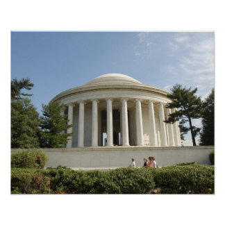 Washington, DC. Thomas Jefferson Memorial Poster
