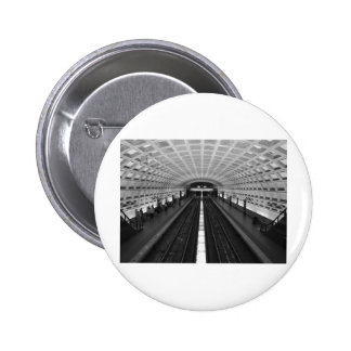 washington-dc-train-station 6 cm round badge