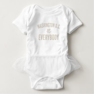 Washington DC Vs Everybody Baby Bodysuit