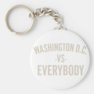 Washington DC Vs Everybody Key Ring