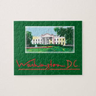 Washington DC - White House Jigsaw Puzzle