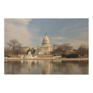 Washington DC Wood Canvas