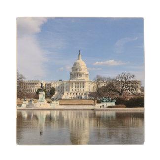 Washington DC Wood Coaster