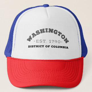 Washington District of Columbia Trucker Hat