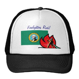 Washington Firefighters Hat Trucker Hat