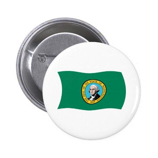 Washington Flag Button