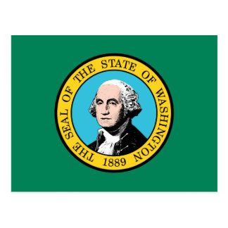 Washington Flag Postcard