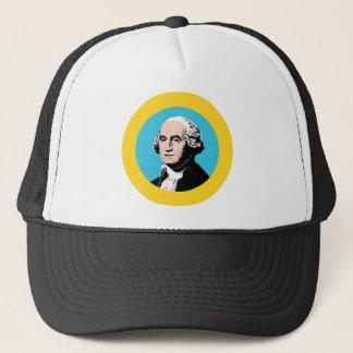 Washington Flag Theme 00 Trucker Hat
