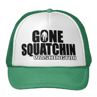 WASHINGTON Gone Squatchin - Original Bobo Trucker Hat