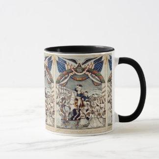 Washington Greeted 1789 by Ladies of Trenton Mug