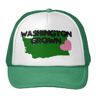 WASHINGTON GROWN TRUCKER HAT