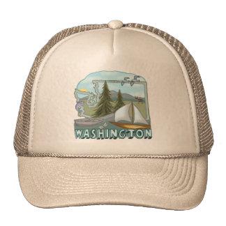 Washington Mesh Hat