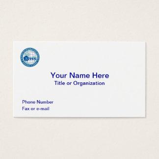 Washington Headquarters Services Business Cards