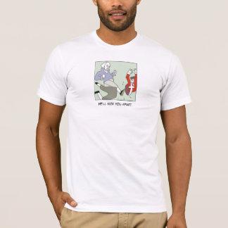 Washington: He'll Kick You Apart - Customized T-Shirt