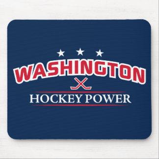 Washington Hockey Power Blue Mouse Pad