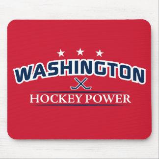 Washington Hockey Power Red Mouse Pad