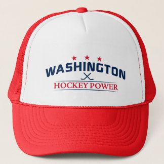 Washington Hockey Power Trucker Hat