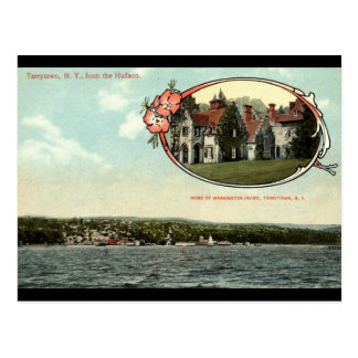 Washington Irving, Tarrytown, NY Vintage c1915 Postcard