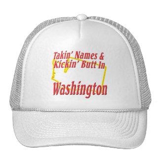 Washington - Kickin' Butt Cap