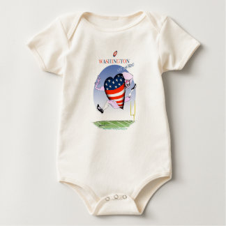 Washington loud and proud, tony fernandes baby bodysuit