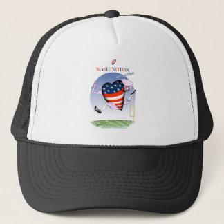 Washington loud and proud, tony fernandes trucker hat
