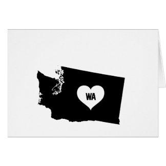 Washington Love Card