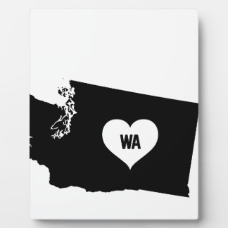 Washington Love Plaque
