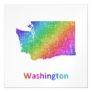 Washington Magnetic Invitations
