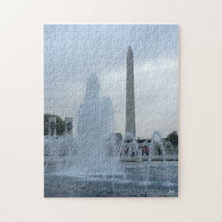 Washington Memorial Jigsaw Puzzle