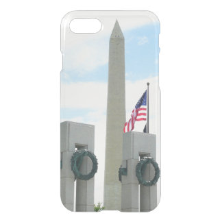 Washington Monument and WWII Memorial in DC iPhone 8/7 Case