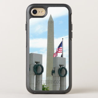 Washington Monument and WWII Memorial in DC OtterBox Symmetry iPhone 7 Case