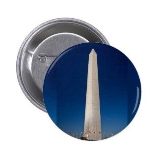 Washington Monument at Dusk 6 Cm Round Badge