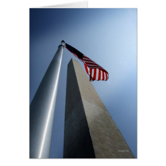 Washington Monument Card