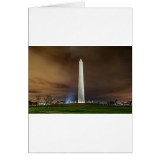 Washington Monument Card