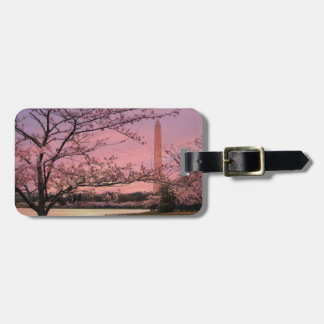 Washington Monument Cherry Blossom Festival Luggage Tag