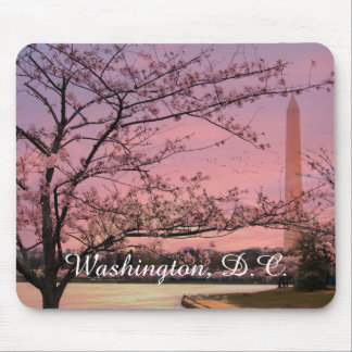 Washington Monument Cherry Blossom Festival Mouse Pad