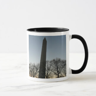 Washington Monument in Winter II Mug