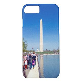 Washington Monument & Reflecting Pool Phone Case