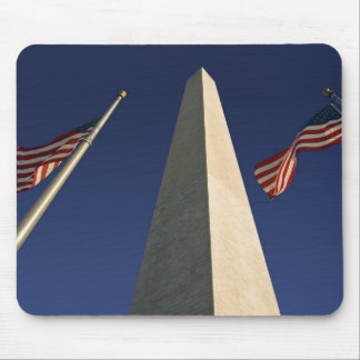 Washington Monument U S A Flags Mouse Pad