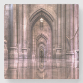 Washington National Cathedral Reflections Stone Beverage Coaster