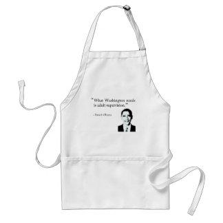 Washington needs adult supervision standard apron