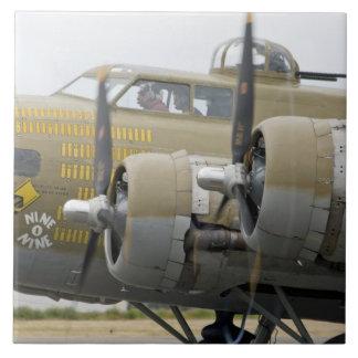 Washington, Olympia,  military airshow. 2 Large Square Tile