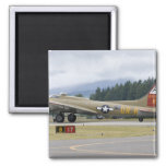 Washington, Olympia, military airshow. 3 Square Magnet