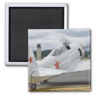 Washington, Olympia, military airshow. 6 Square Magnet