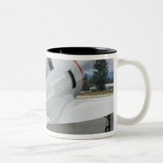 Washington, Olympia, military airshow. 6 Two-Tone Coffee Mug