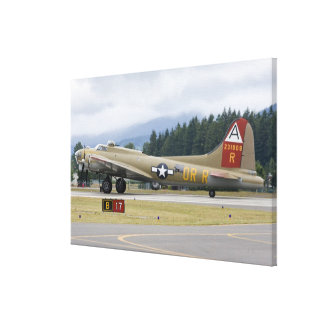 Washington, Olympia, military airshow. 7 Stretched Canvas Print