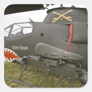 Washington, Olympia, military airshow. 8 Square Sticker