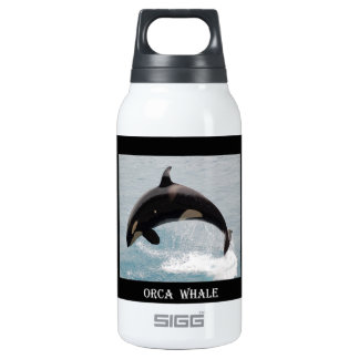 Washington Orca Whale Insulated Water Bottle